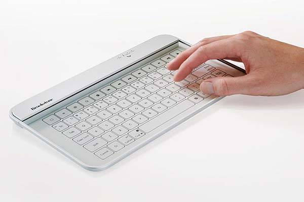 The Tempered Glass Portable Bluetooth Keyboard