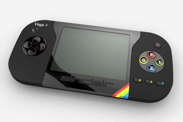 The Sinclair ZX Spectrum Vega Plus Handheld Game Console