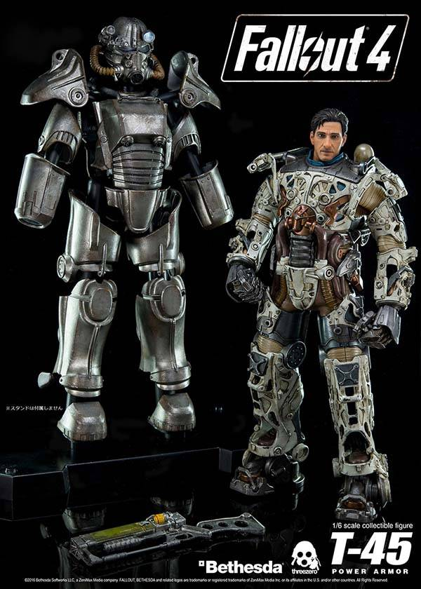 Fallout 4 T-45 Power Armor Action Figure