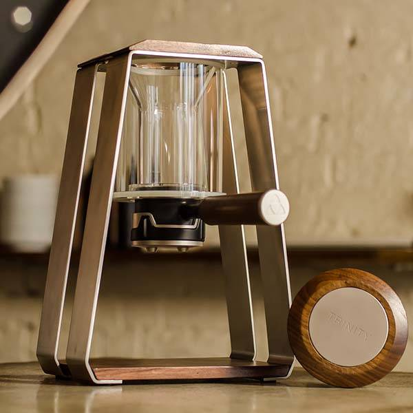 Trinity ONE Coffee Brewer for Pour Over, Air Pressure and Cold Brew