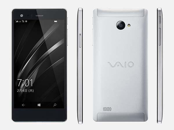 VAIO Phone Biz Windows 10 Smartphone