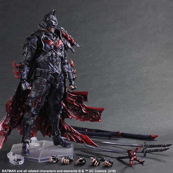 Variant Play Arts Kai Timeless Bushido Batman Action Figure