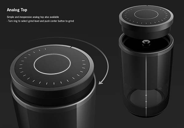 VIVI Concept Coffee Grinder Delivers Quality Electric Burr Grind