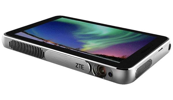 Zte spro plus portable smart projector with integrated for Smart pocket projector
