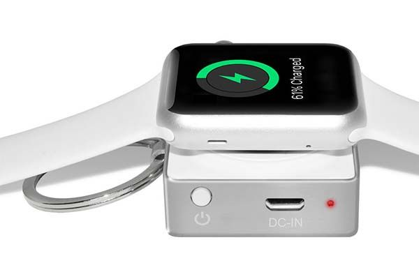 The MFi Apple Watch Power Bank Keychain