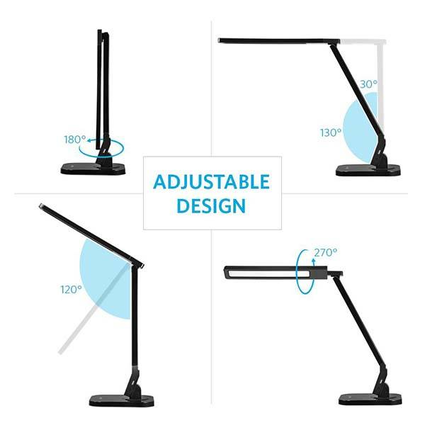 Anker Lumos A2 LED Desk Lamp with 2.1A USB Port