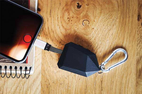 CoalBit Mini Power Bank with Bluetooth Tracker