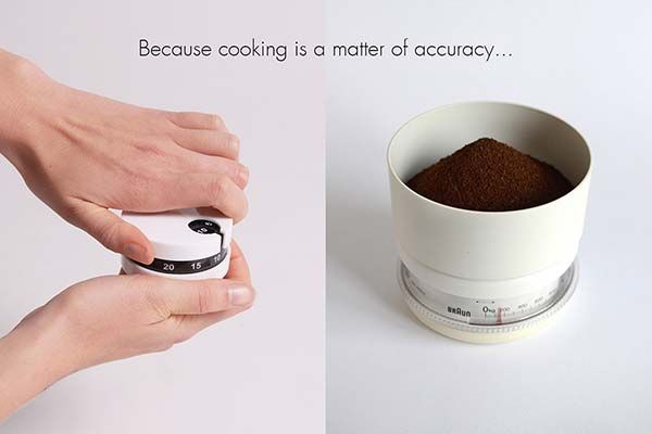 Commis Concept Kitchen Timer and Scale