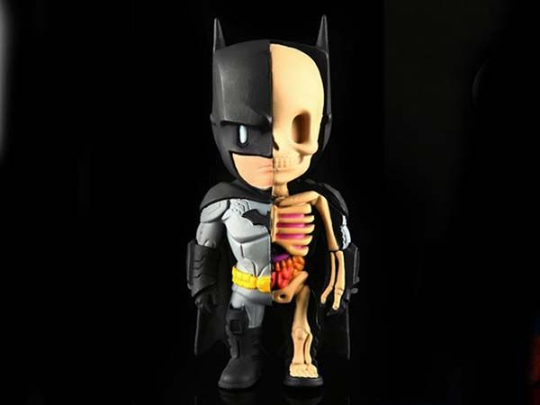 DC Comic XXRAY Batman Figurines