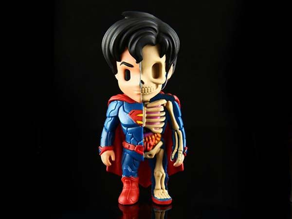 DC Comic XXRAY Superman Figurines