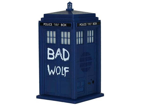 Doctor Who Bad Wolf TARDIS Portable Bluetooth Speaker