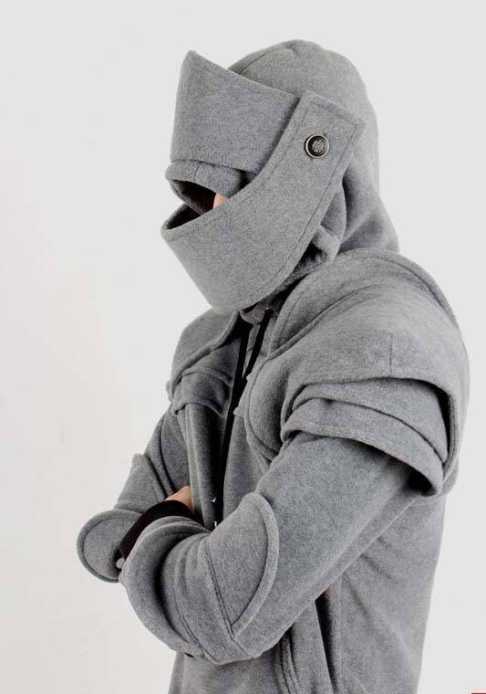 Duncan Armored Knight Hoodie Turns You Into a Medieval