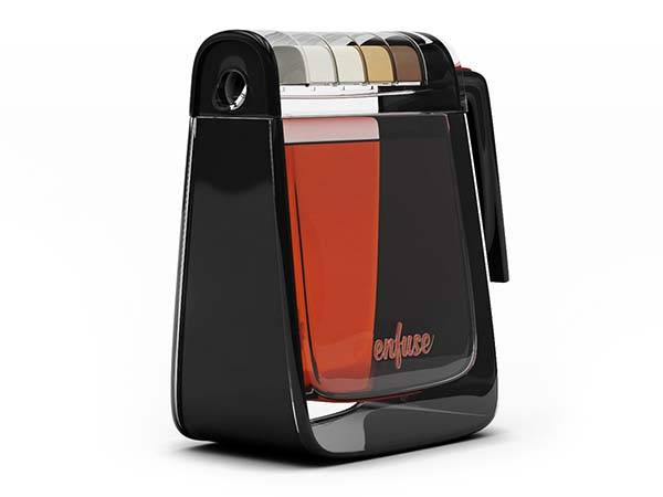 Enfuse Concept Flask with Flavor Compartments Makes Tea with Your Favorite Flavor