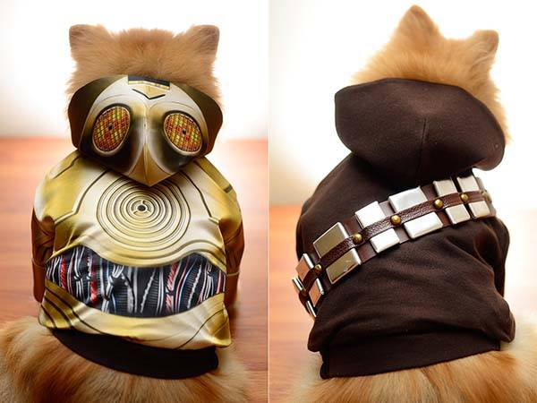 The Handmade Star Wars Dog Clothes Turn Your Pet into BB-8, R2-D2 or C-3PO