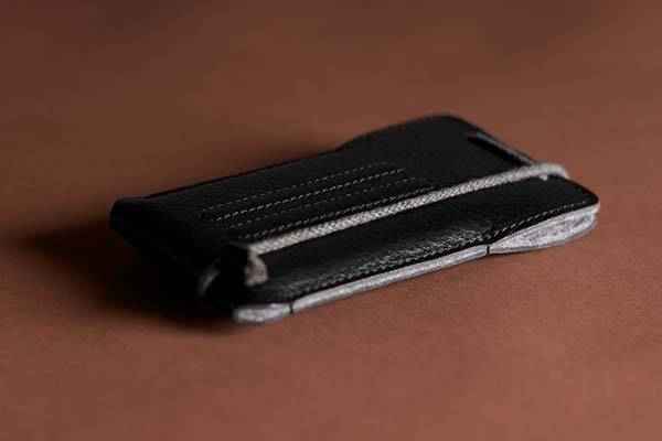 Hard Graft Lean iPhone SE Leather Case