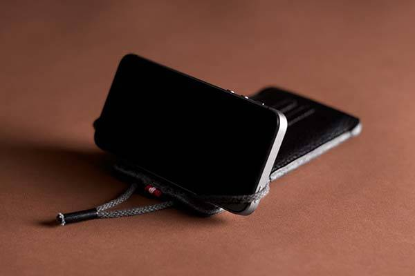 Hard Graft Lean iPhone SE Leather Case