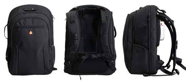 iBackPack 2.0 Backpack with Bluetooth Speaker, Hotspot, Power Bank and More