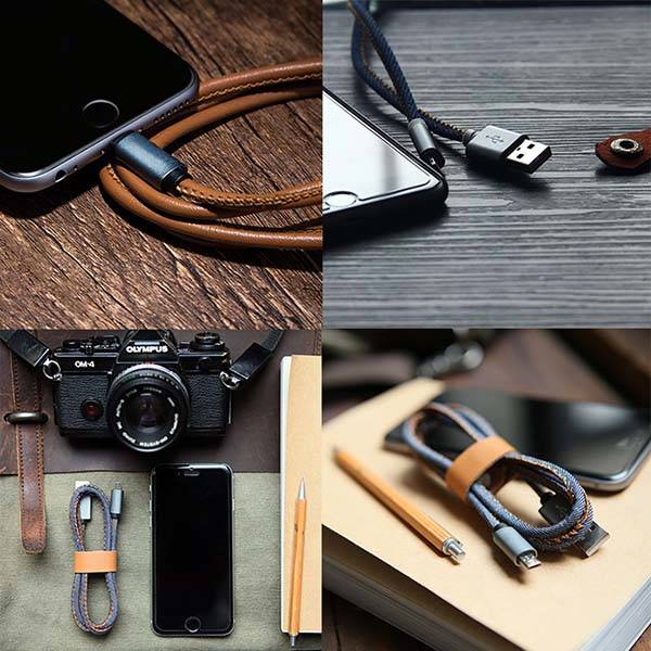 LMcable 2-In-1 MicroUSB and Lightning Cable