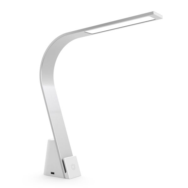 LUX Brooklyn Charging Station Integrated LED Desk Lamp