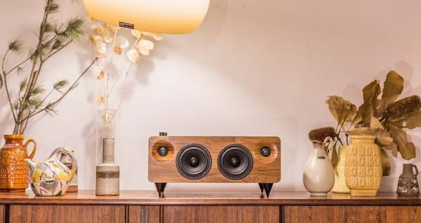 MIN7 Multi-Functional Handmade Wooden Wireless Speaker