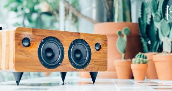 MIN7 Multi-Functional Handmade Wooden Wireless Speaker