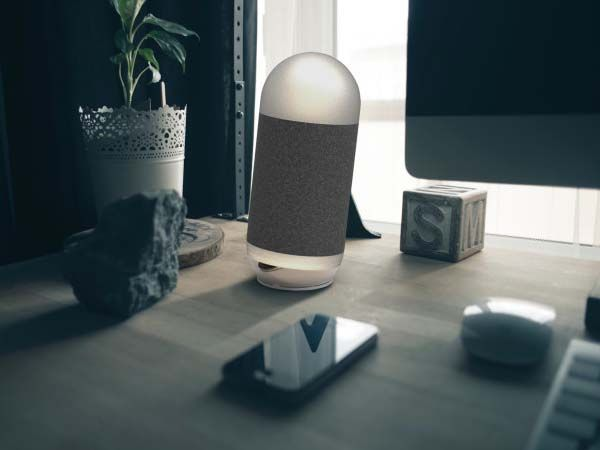 Moodbox Smart Wireless Speaker with LED Light