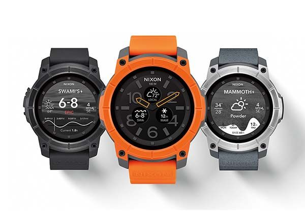 Nixon Mission Action Sports Smartwatch