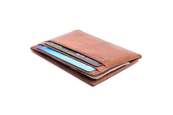 Nodus New Compact 4 Card Minimal Leather Wallet