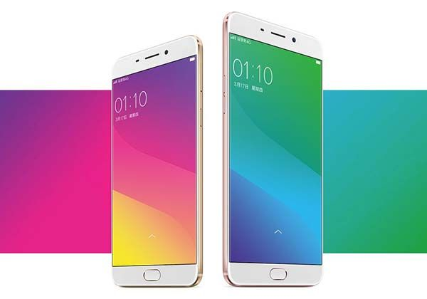 Oppo R9 and R9 Plus Smartphones