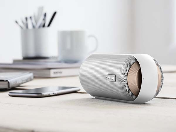 Philips Splash-Proof Portable Bluetooth Speaker