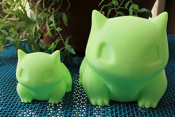 Pokemon Bulbasaur 3D Printed Planters