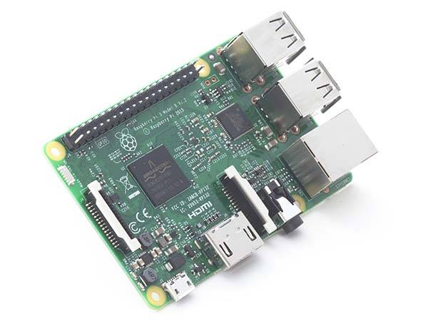 Raspberry Pi 3 with 1.2GHz Quadcore Processor, WiFi, and Bluetooth 4.1