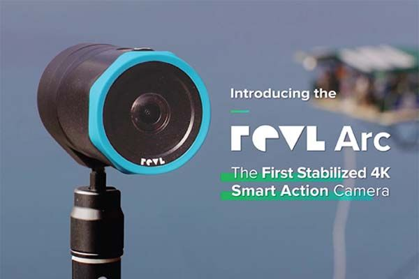 Revl Arc Ultra-Stable 4K Smart Action Camera