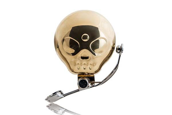 Skull Brass Bike Bell