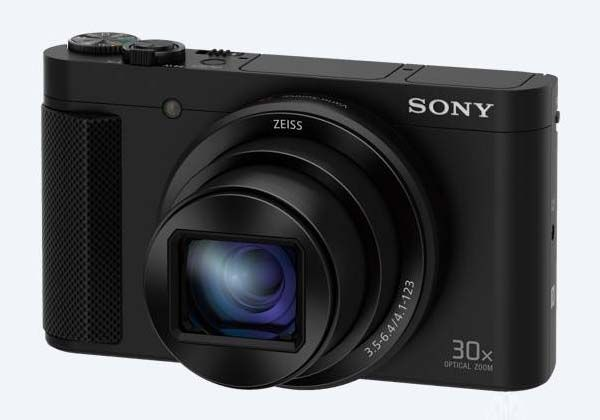 Sony Cyber-Shot DSC-HX80 Compact Camera with 18.2MP CMOS and 30x Optical Zoom Lens