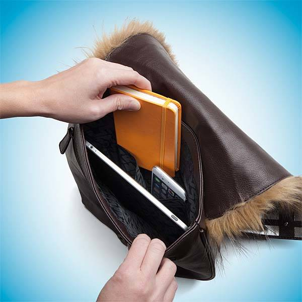 Star Wars Chewbacca Furry Shoulder Bag