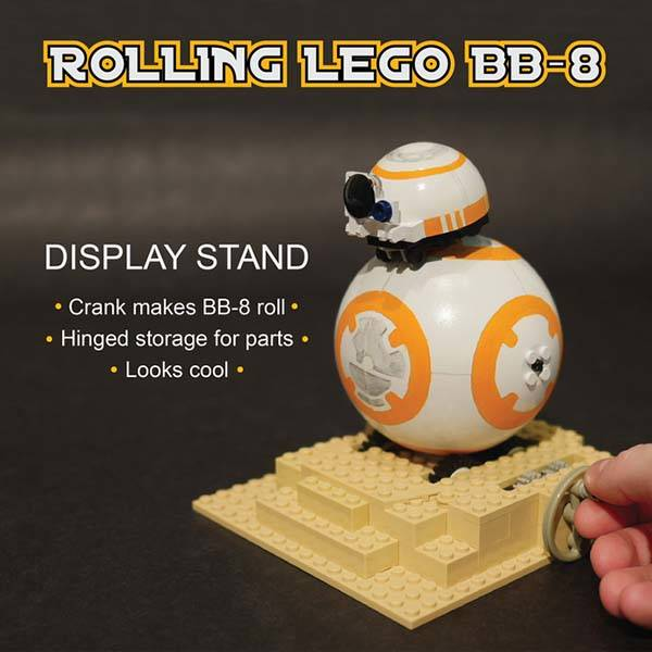 Star Wars Rolling BB-8 LEGO Set