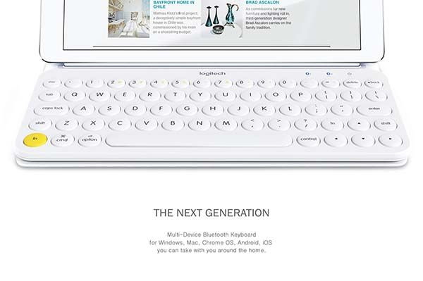 The Concept Bluetooth Keyboard with Multiple Advantages of Logitech Keyboards