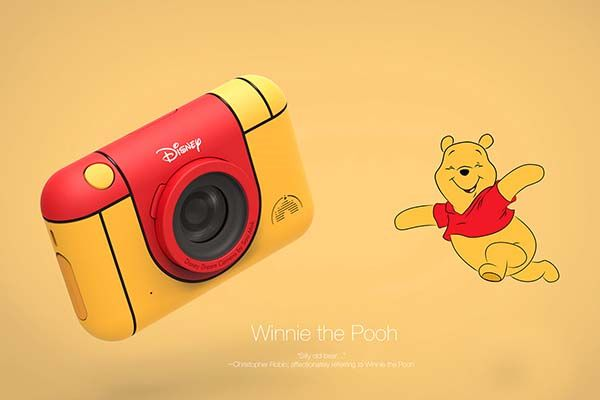 The Concept Disney Camera for Shy Kids