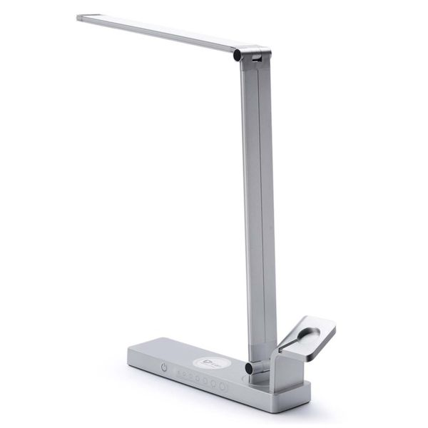 The LED Desk Lamp with Apple Watch Stand, Charging Station and Wireless Charger