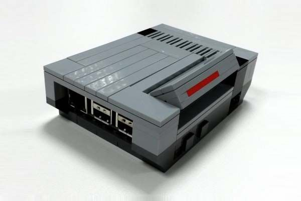 NesPi LEGO NES Shaped Raspberry Pi Case