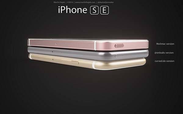 The Renders Show Three Concept Iphone Se Models Based On