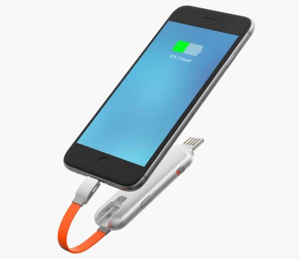 Thino Power Bank with Fast Charging and Reversible USB