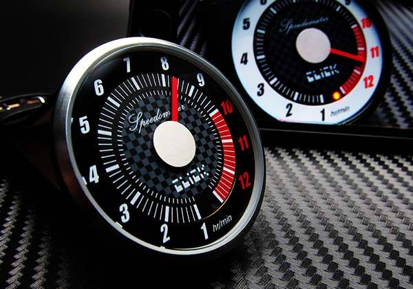 Tokyoflash Click Speedometer Analog Watch