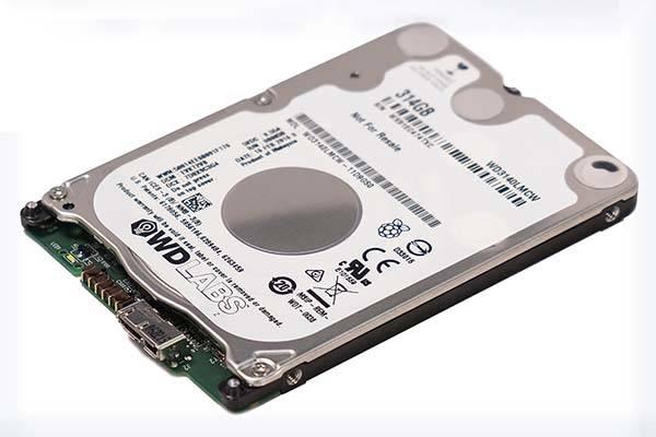 Western Digital 314GB WD PiDrive Raspberry Pi HDD