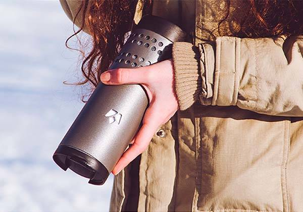 Yecup 365 Temperature Adjustable Smart Mug with Built-in Power Bank
