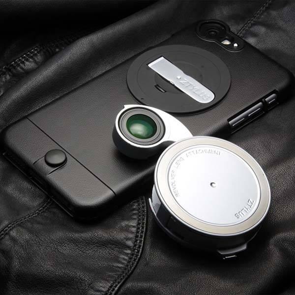 Ztylus ZIP-6PLK iPhone 6s Plus Case and Lens Kit