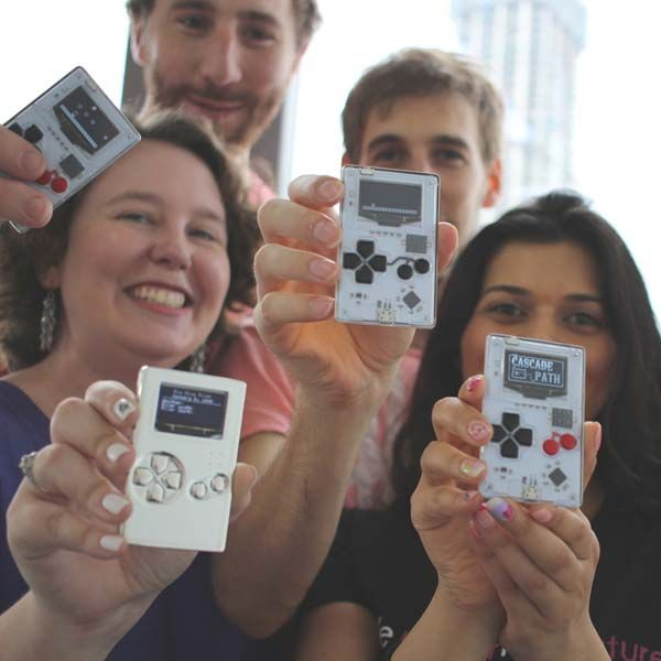 Arduboy Credit Card Sized Handheld Game Console