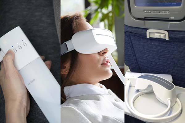 Aurai Cool/ Warm Water-Propelled Eye Massager