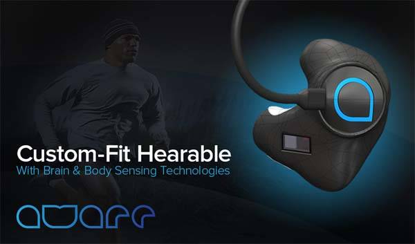 The Aware Bluetooth Headphones with Activity & Sleep Tracker, Stress Tracker and More